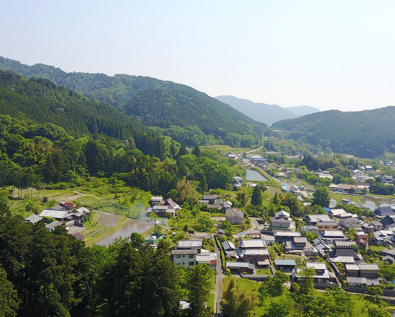 能勢町空撮写真